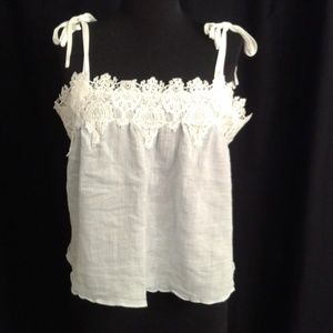E by Eloise S tank top lace